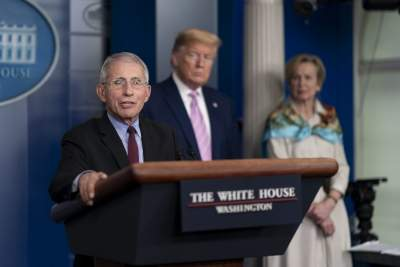Trump slams Fauci, calls him 'disaster'