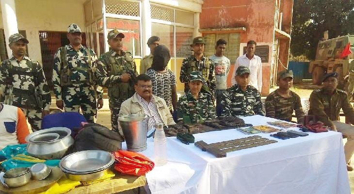 TPC ultra arrested with 152 cartridges of Insas in Latehar