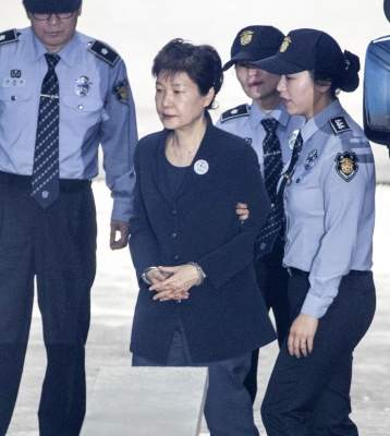 Ex-S.Korean President's 20-year prison sentence upheld
