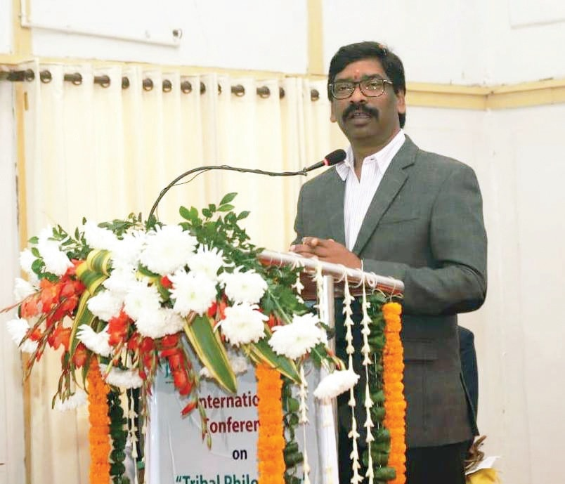 Present model of development has damaged the relationship between tribals and nature: Hemant