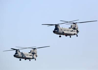 Apache, Chinook to make debut at Republic Day flypast