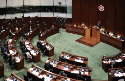 China official in HK to discuss poll postponement