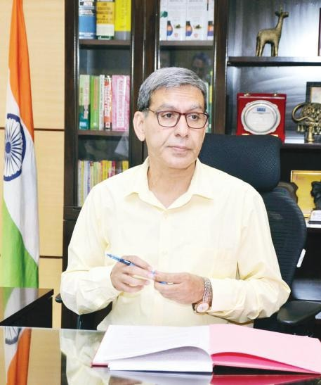 Sukhdeo Singh takes charge as 23rd Chief Secretary of Jharkhand