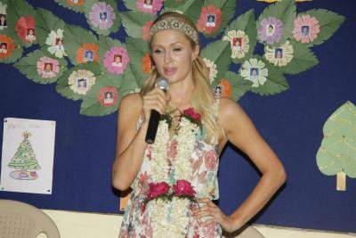Paris Hilton has been 'playing a character'