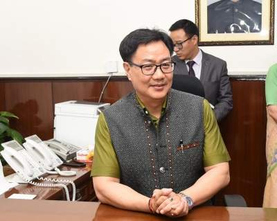 Rijiju calls 'India's Usain Bolt' Srinivasa Gowda for trials