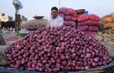 No more tears, onion to bring cheers in New Year