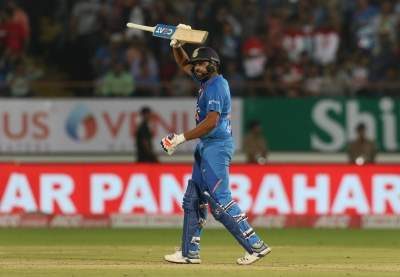 Rohit one hit away from becoming first Indian to reach 400 sixes