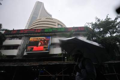 Sensex falls over 500 points after touching fresh high, Nifty below 13K